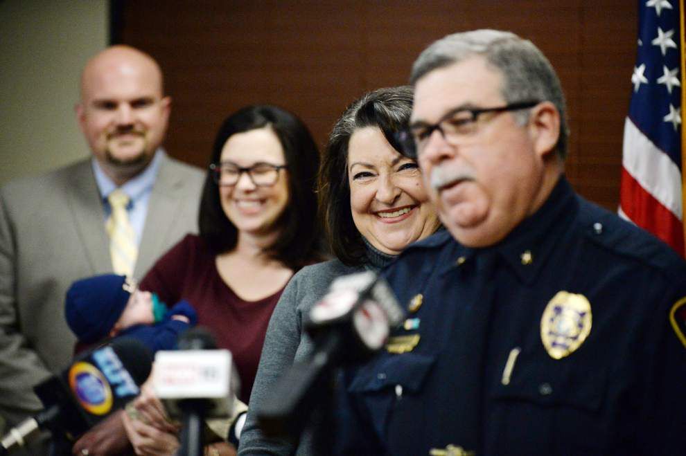Lafayette police chief announces retirement; Robideaux to name replacement _lowres