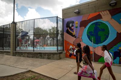 Lemann Playground swimming pool