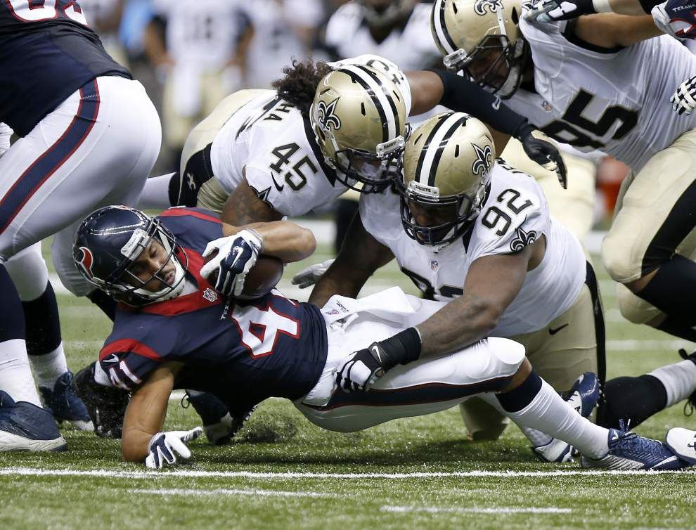 Photos: Saints struggle against the Houston Texans in big preseason prep in the Mercedes-Benz Superdome _lowres