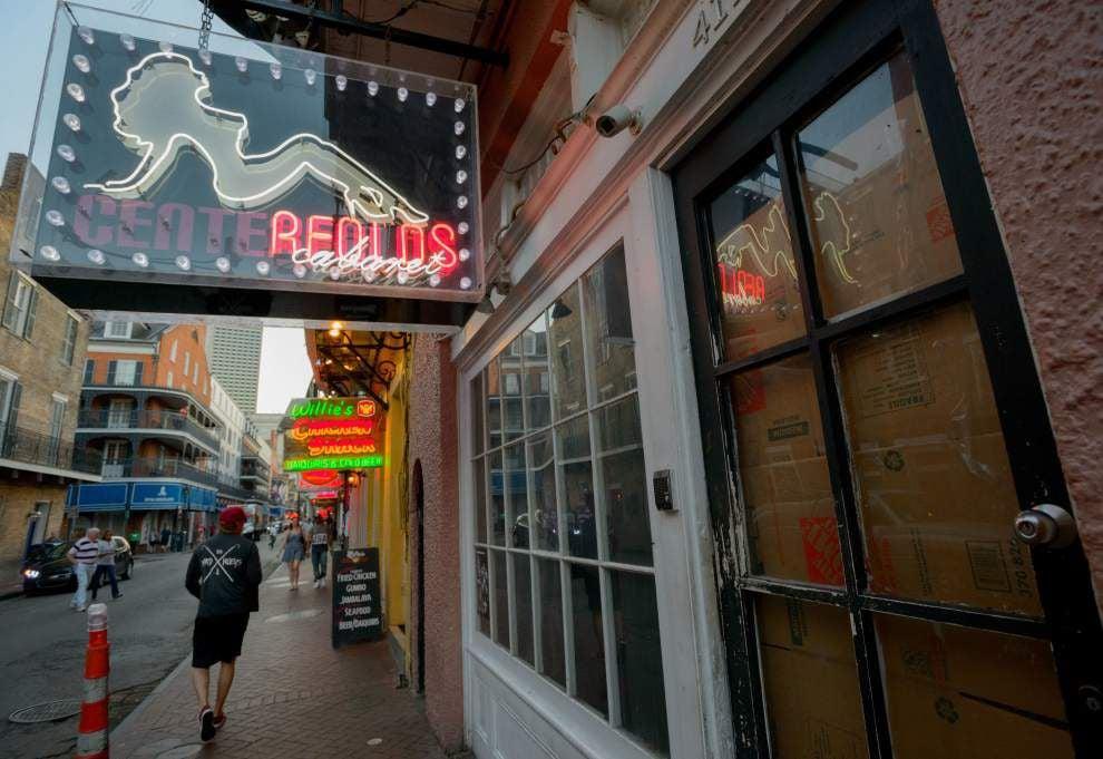 Bourbon street sex acts