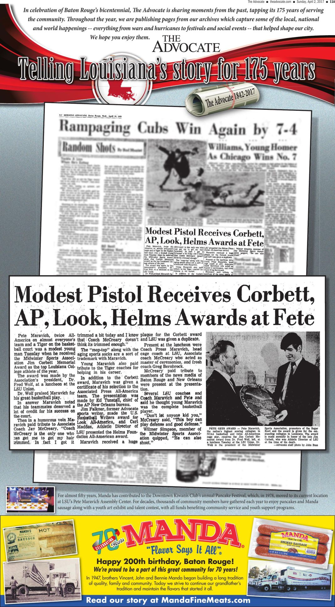 Modest Pistol Receives Corbett,AP