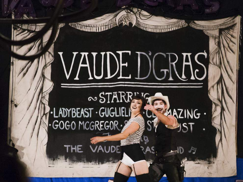 Photos: Vaude d'Gras helps transform Happyland Theater back to vaudeville theater after 88 years _lowres