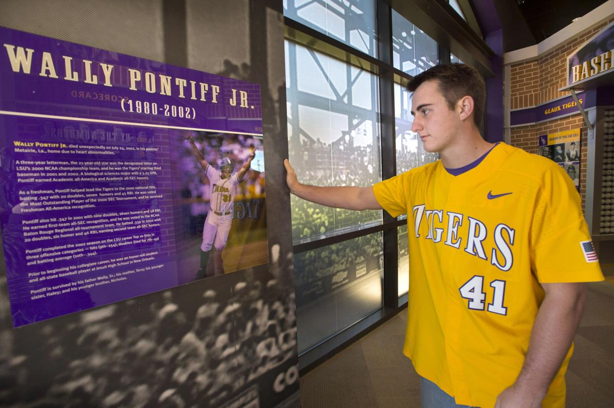 3dc390f88 Caleb Gilbert never met Wally Pontiff -- but the LSU legend has always  inspired him