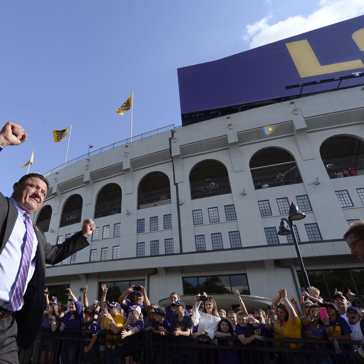 What We Know About Lsu Football Schedules Through 2025 One
