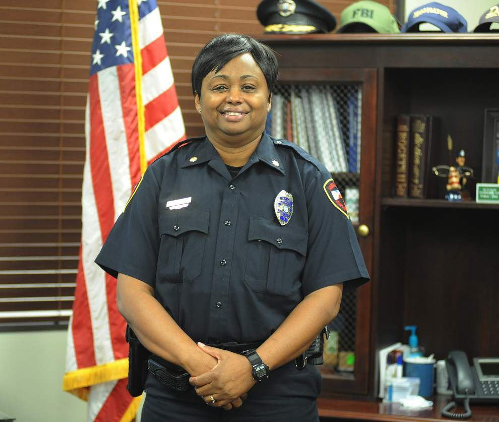 Lafayette's first female police major to focus on community policing _lowres
