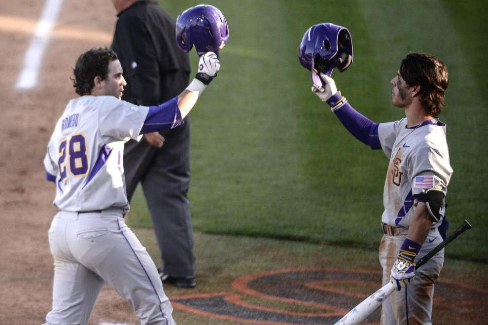 How it happened: LSU baseball rolls past Southern _lowres