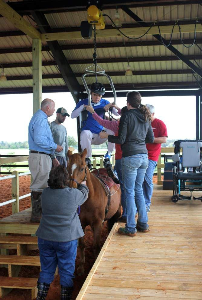 Therapeutic equestrian center plans polo event _lowres