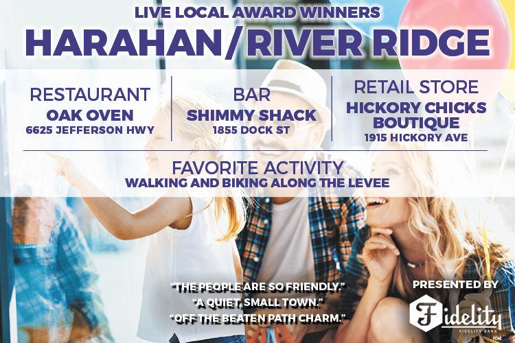 Live Local Awards - Harahan / River Ridge Winners