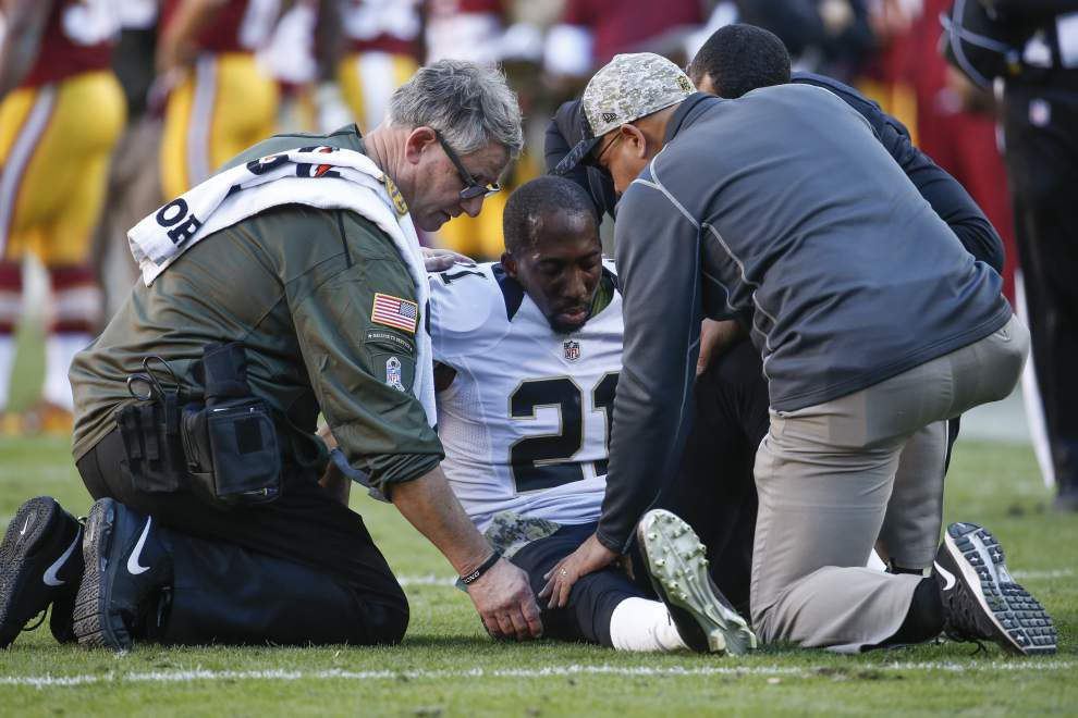 Knee injury hands Saints cornerback Keenan Lewis another setback _lowres