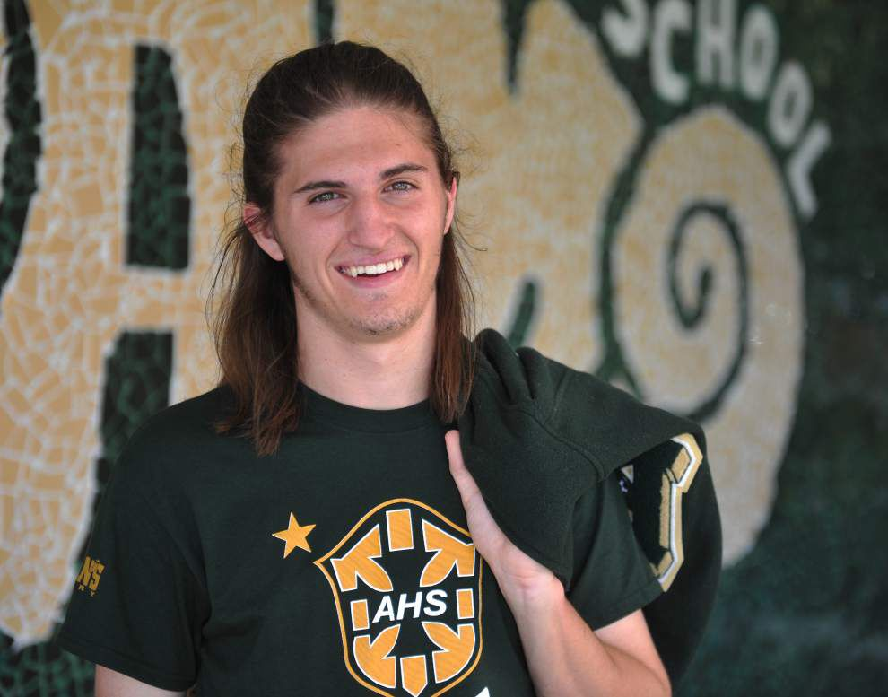 Bailey Deroussel leads Acadiana Advocate's All-Metro boys soccer team _lowres