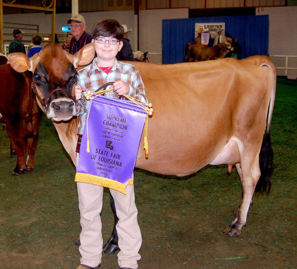 East, West Feliciana 4-H youth shine at livestock shows _lowres
