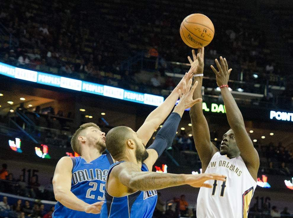 Pelicans rally but fall short against Mavericks again _lowres