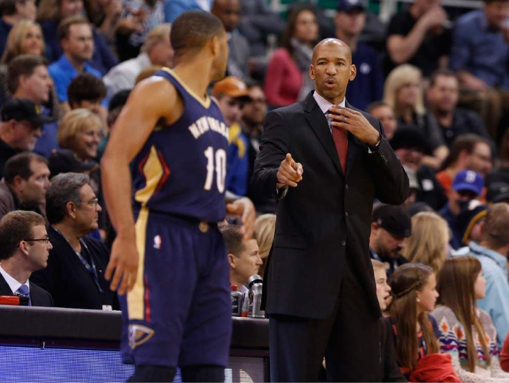 New Orleans Pelicans guard Eric Gordon is out indefinitely with a torn left labrum _lowres