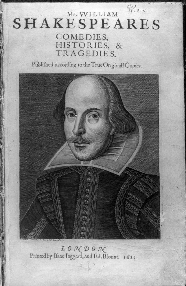 'First Folio! The Book that Gave us Shakespeare' to kick off Tulane fest in May _lowres