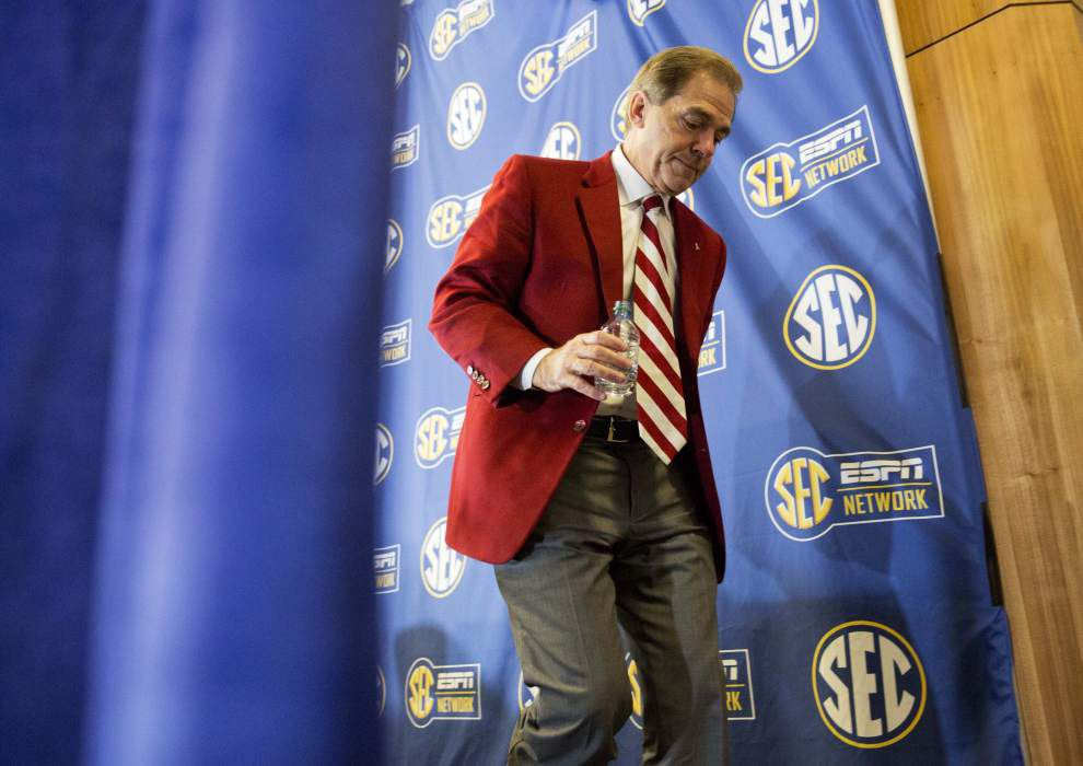 Rabalais: It's not easy to do what Nick Saban does ... and it's not easy for SEC teams to compare themselves against him _lowres