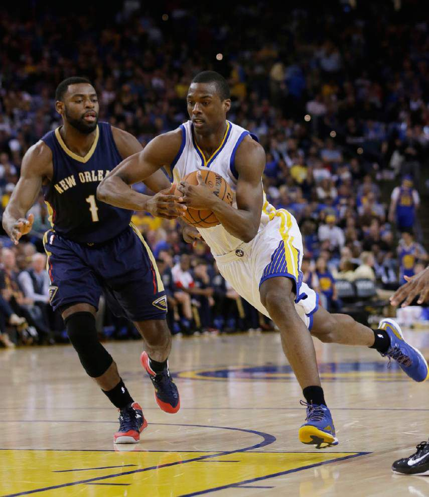 Pelicans' Tyreke Evans struggles with ankle injury against Golden State, 'to see how it feels' Sunday for Clippers game _lowres