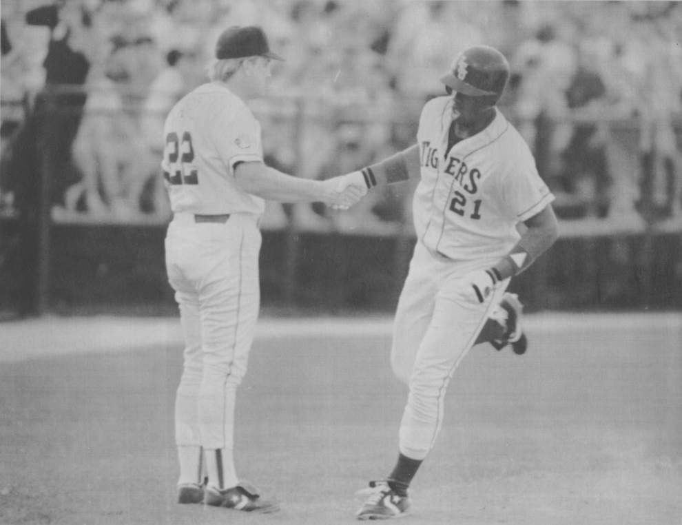 Jim Hawthorne, the 'Voice of the LSU Tigers,' recalls his five most memorable moments at the College World Series _lowres