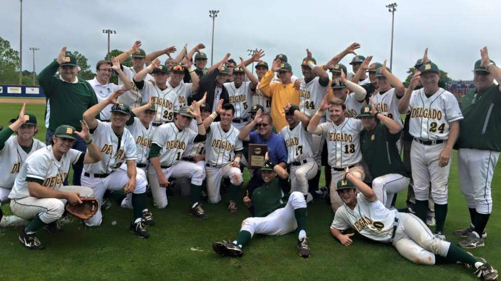 Delgado baseball team returns to Junior College World Series _lowres