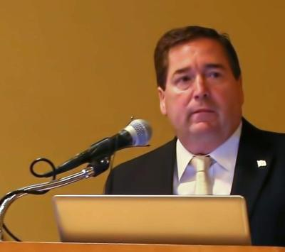 Plaquemines Parish president speaks at Gulf Coast Restoration Summit _lowres