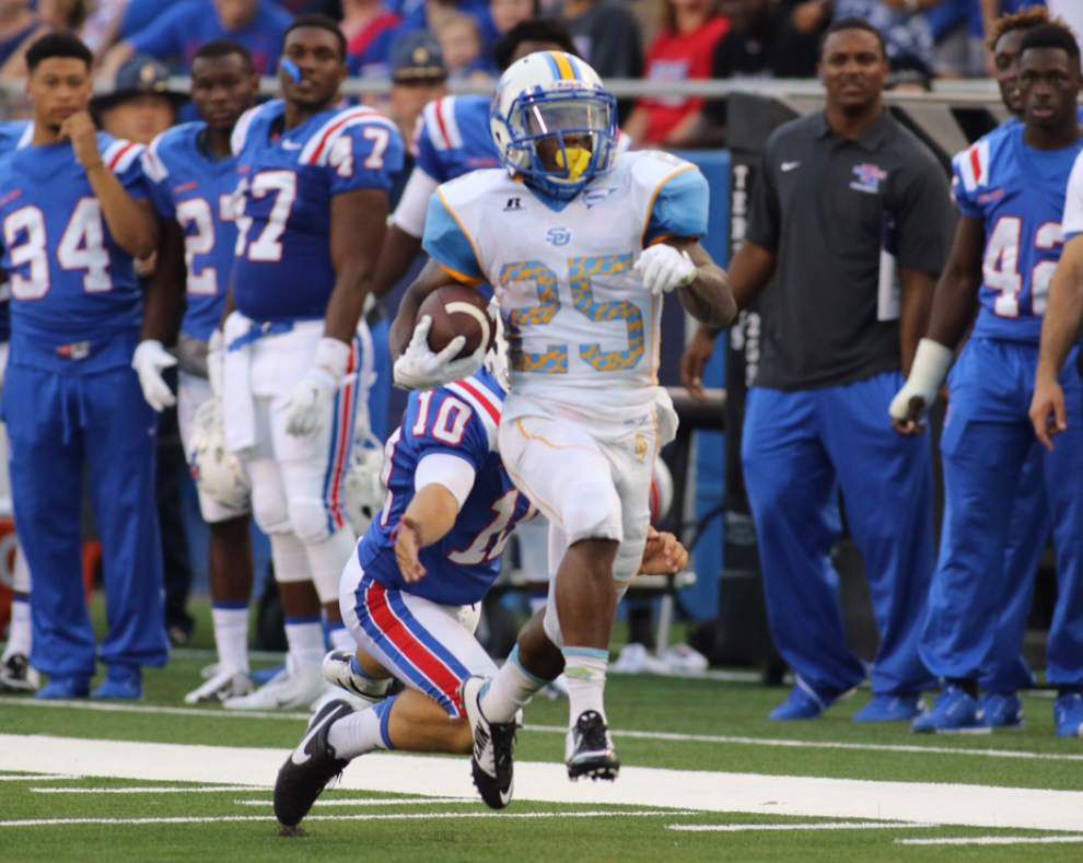 Southern overwhelmed by Louisiana Tech's quick strikes in 62-15 season-opening loss _lowres
