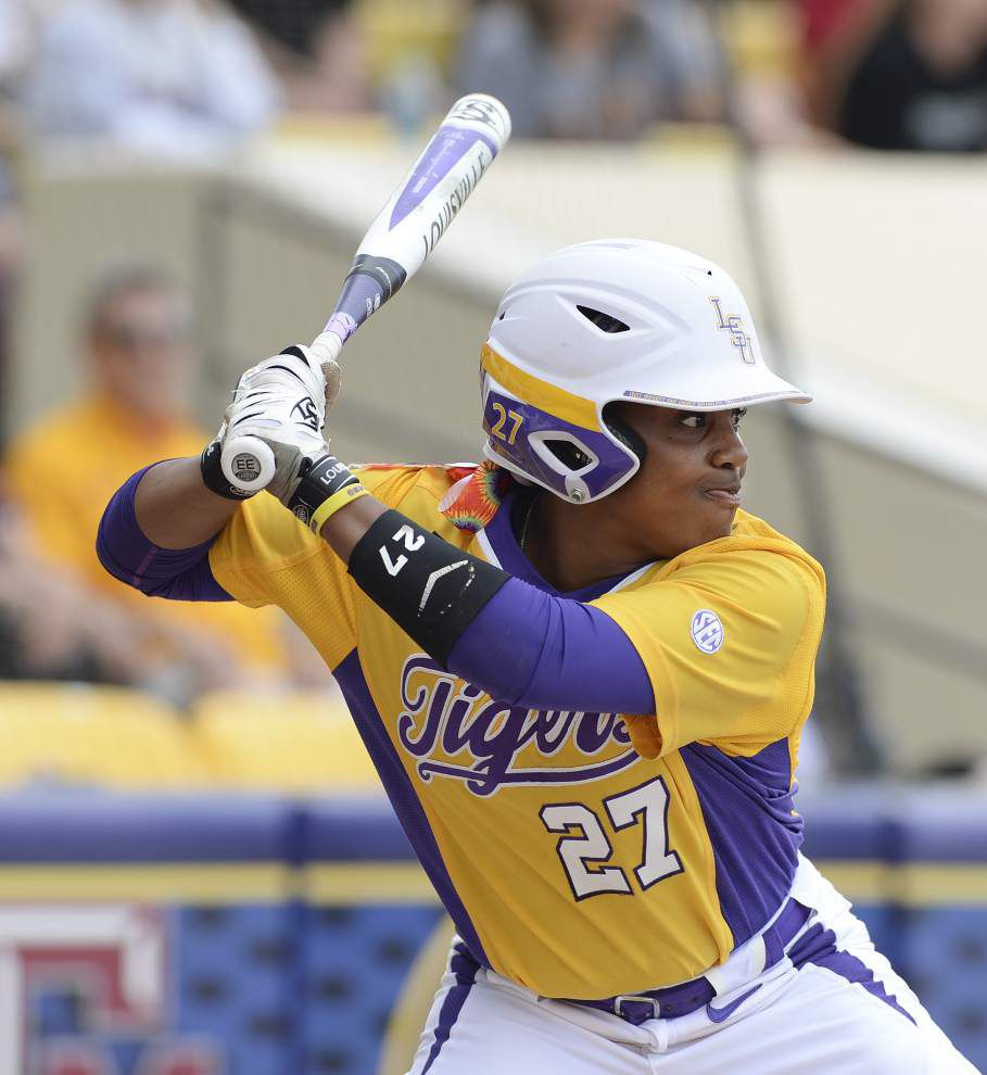 Versatile LSU infielders Bianka Bell, Sahvanna Jaquish on All-America third team _lowres