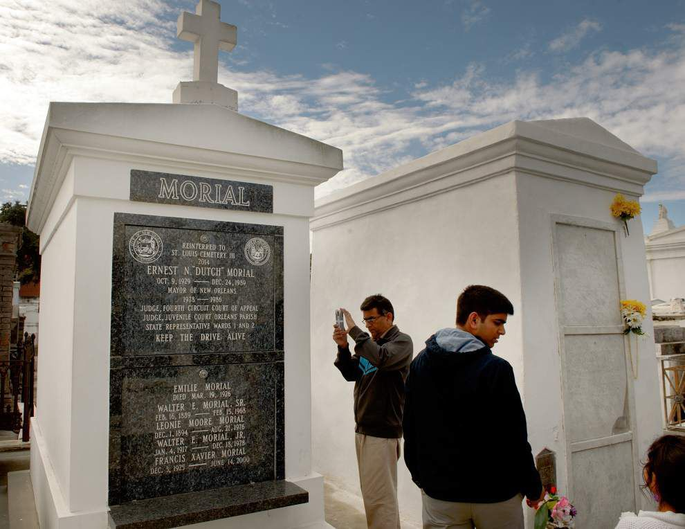 'Dutch' Morial's body to be reinterred in new tomb _lowres