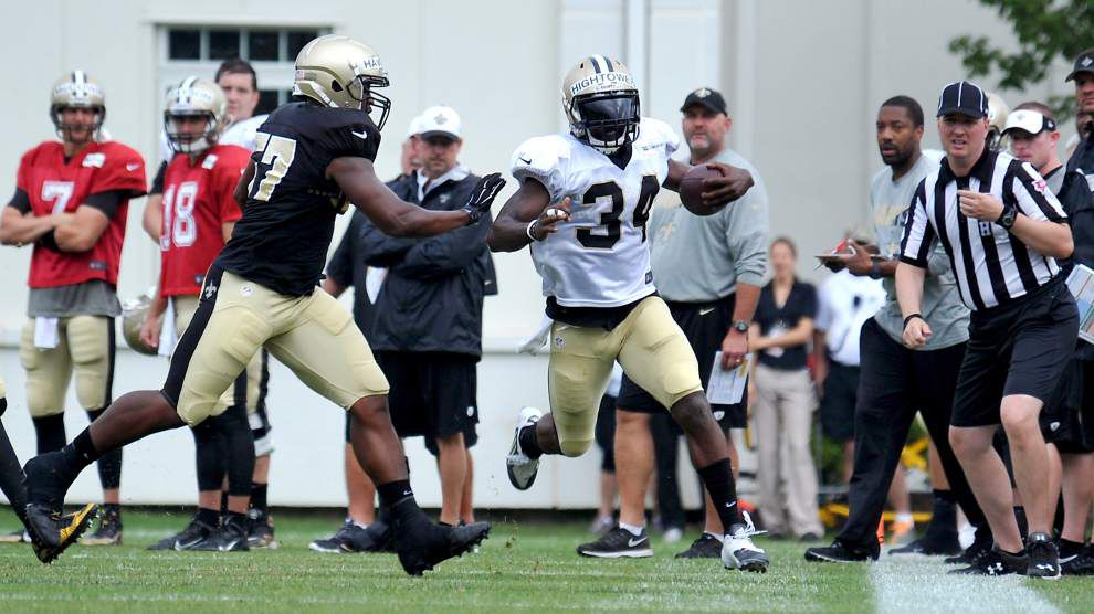 At Saints' black and gold scrimmage, here's who impressed, excelled; plus a breakdown of all plays _lowres