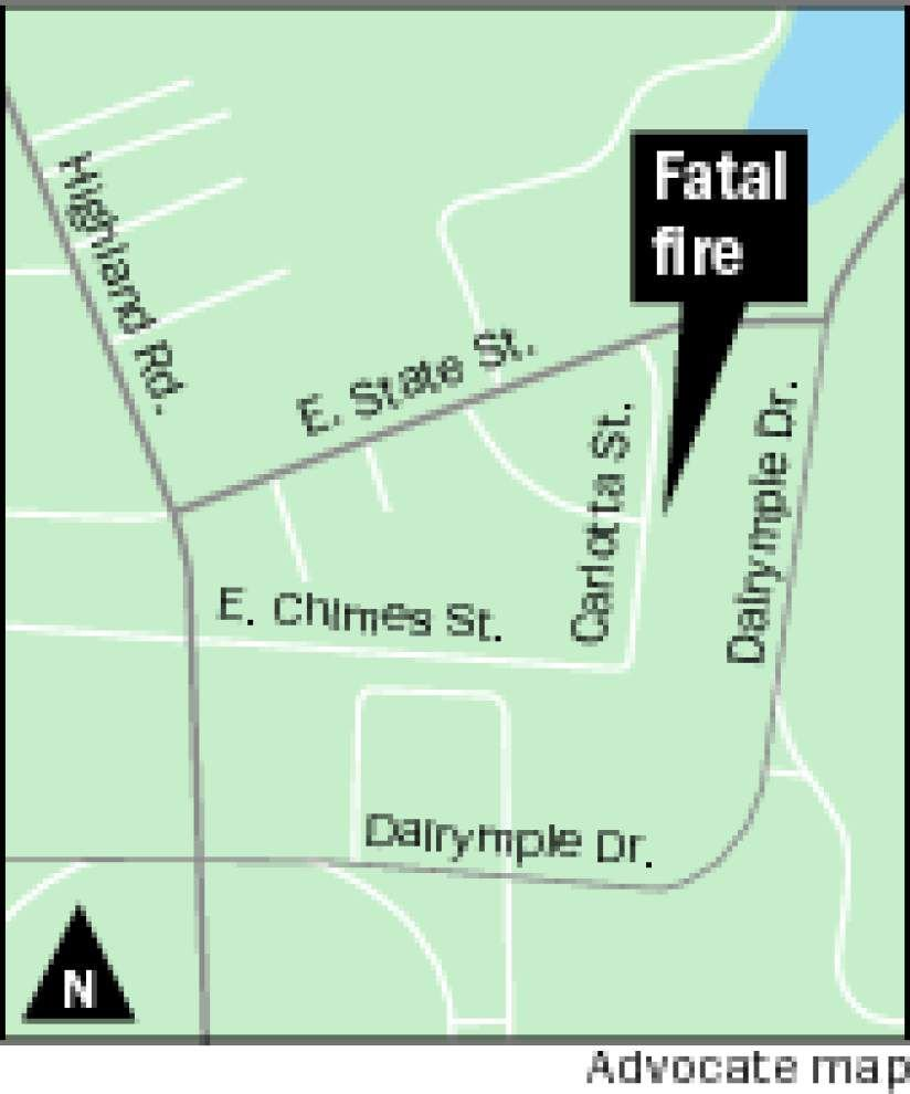 Coroner identifies 37-year-old man killed in house fire early Thursday on Carlotta Street, near LSU campus _lowres