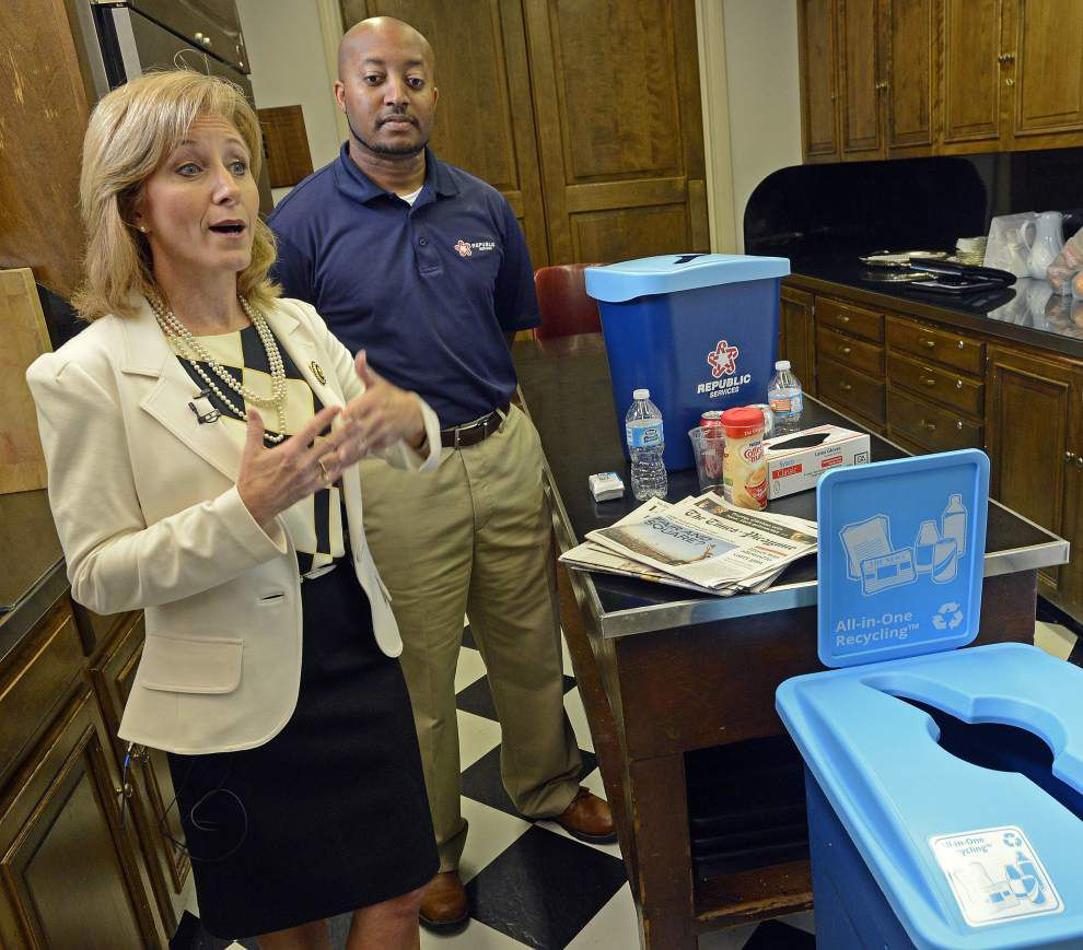 First lady Donna Edwards working on book; Gov. John Bel Edwards' family also now recycling, farming _lowres
