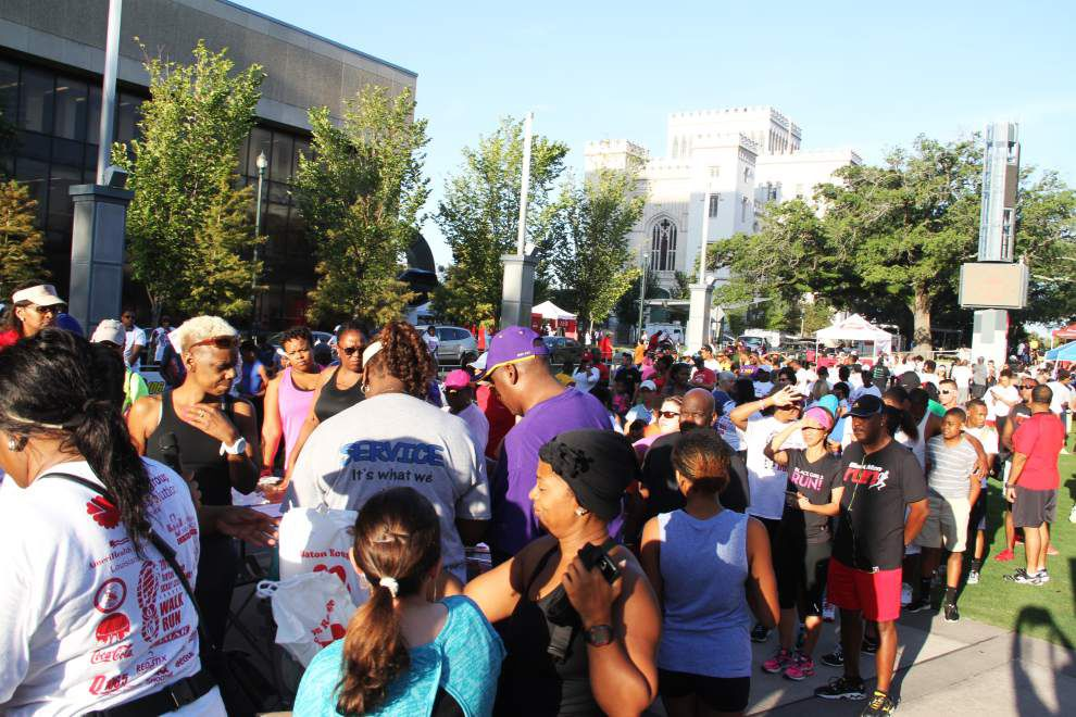 Race, walk in downtown Baton Rouge held to raise funds, public awareness about sickle cell anemia _lowres