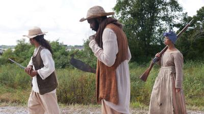 Slave revolt reenactment 1.jpg