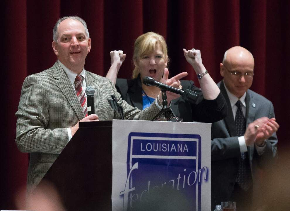 Gov.-elect John Bel Edwards clears air with teachers, says he's not banning vouchers or closing charter schools _lowres