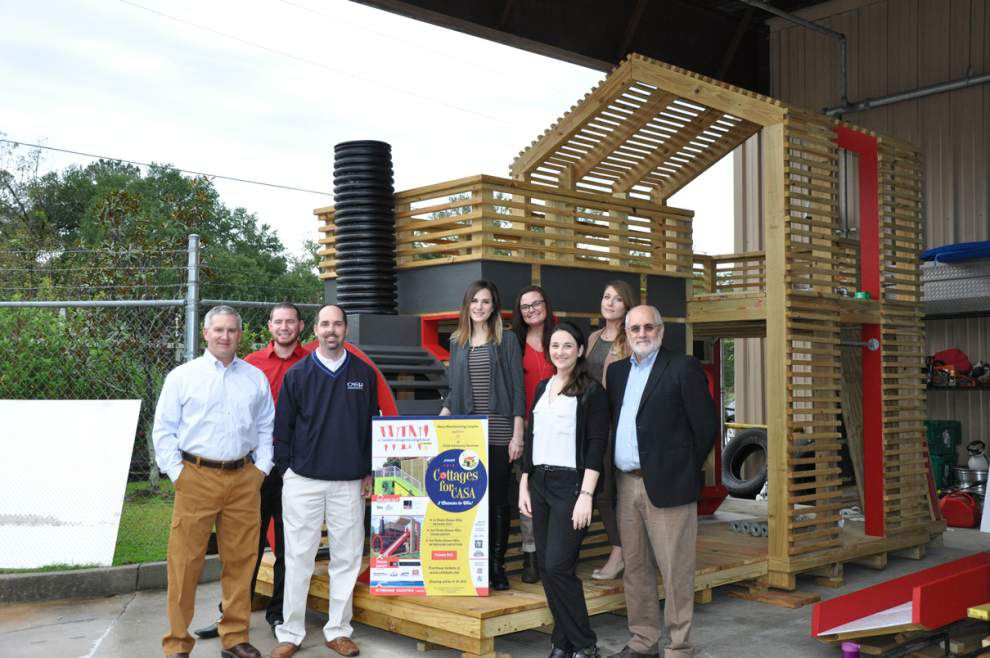 Cottages for CASA playhouse raffle winners announced _lowres