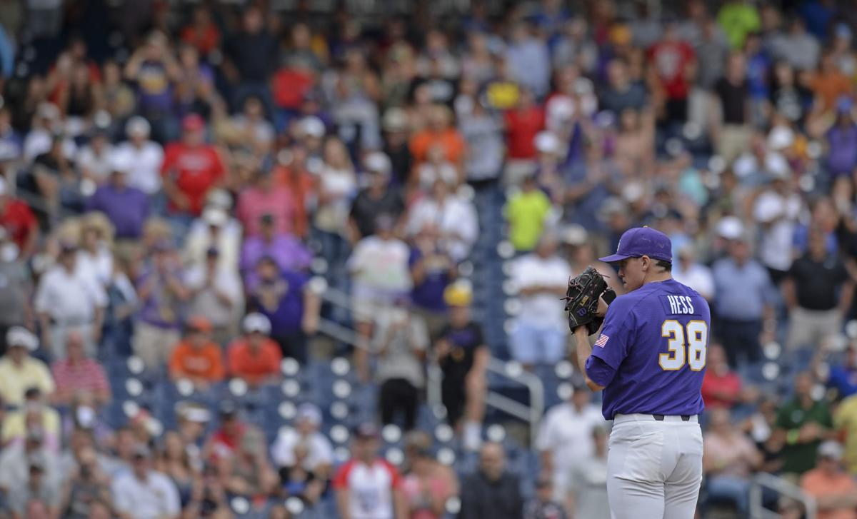 Supremely confident LSU flamethrower Zack Hess fearlessly staring down major challenge