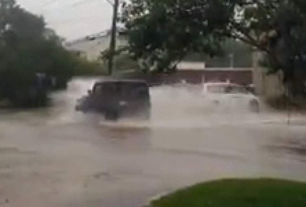 Heavy rains hit Baton Rouge _lowres