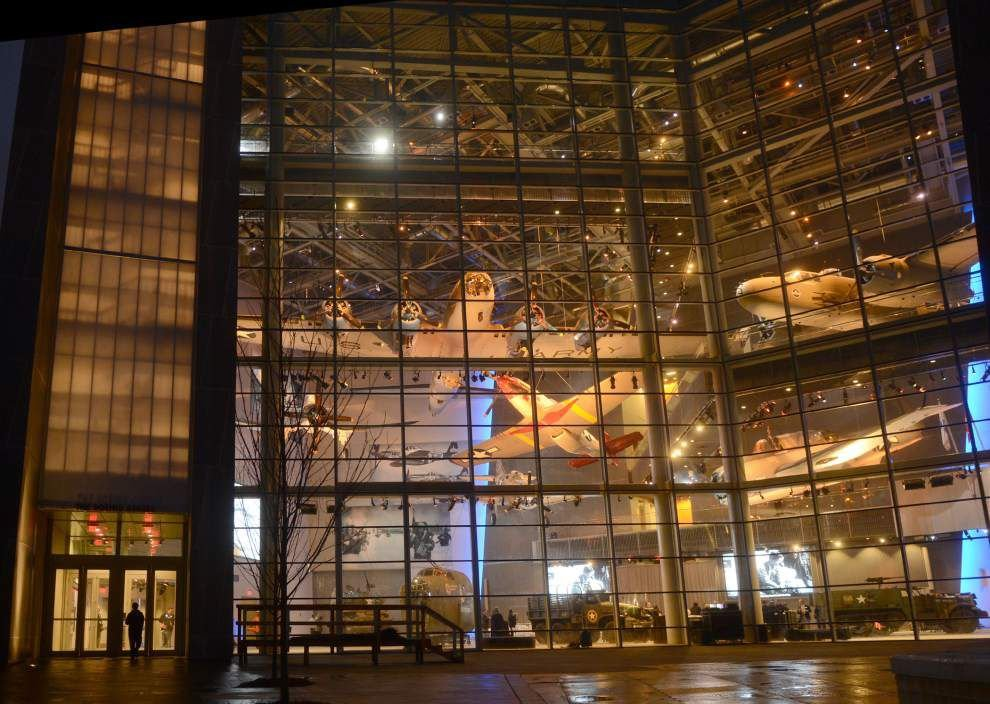 National WWII Museum welcomes 4 millionth visitor _lowres