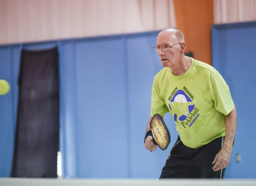 Ever heard of pickleball? Tennis-like game draws a crowd in Baton Rouge _lowres