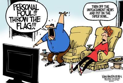 Walt Handelsman: Personal Foul!