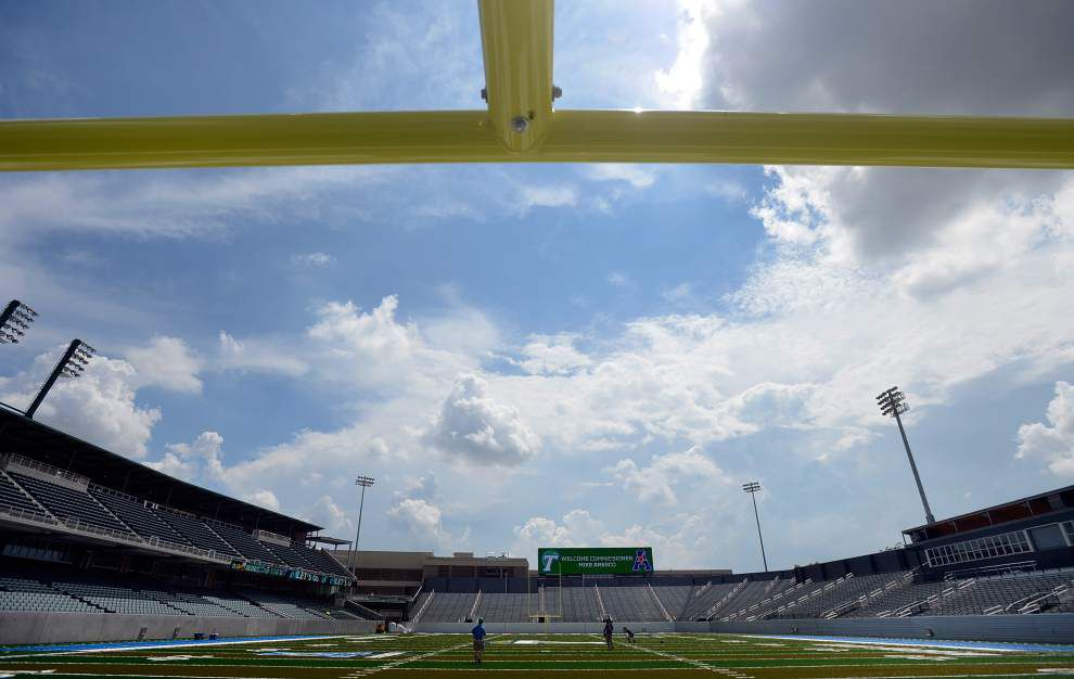 Special Section: Tulane's feeling right at home, back on campus at Yulman Stadium _lowres