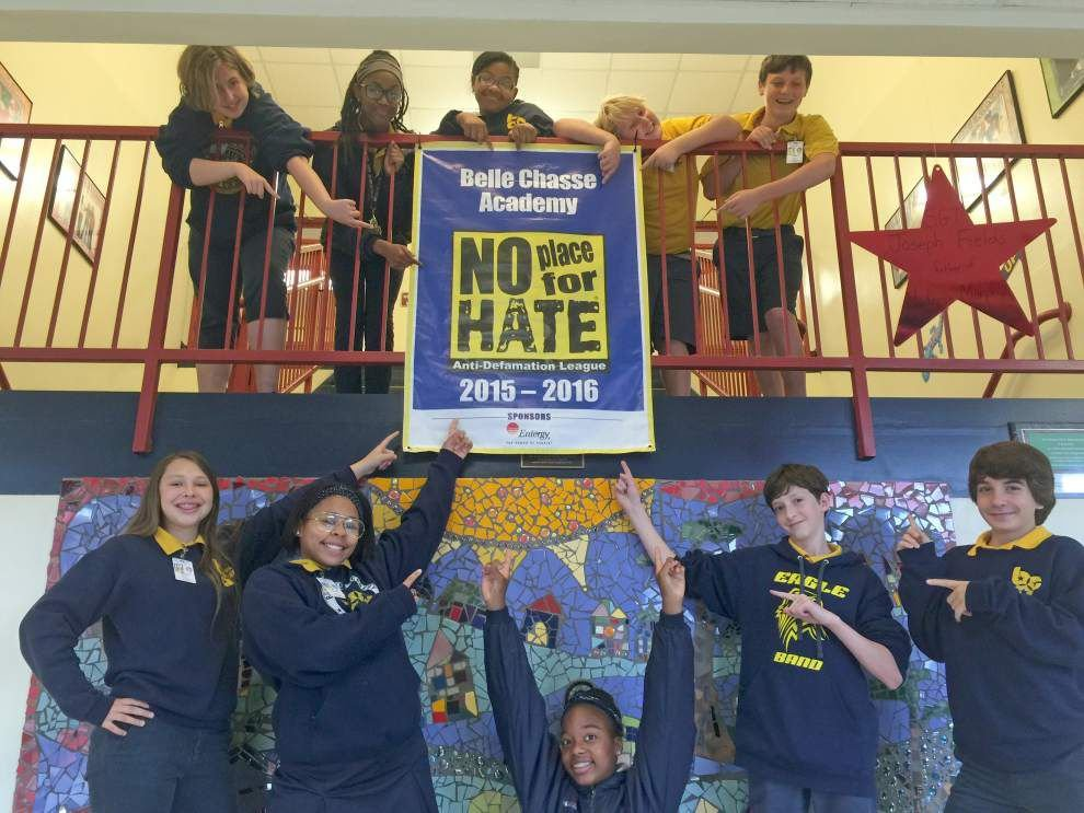 Belle Chasse Academy recognized for anti-bullying efforts _lowres