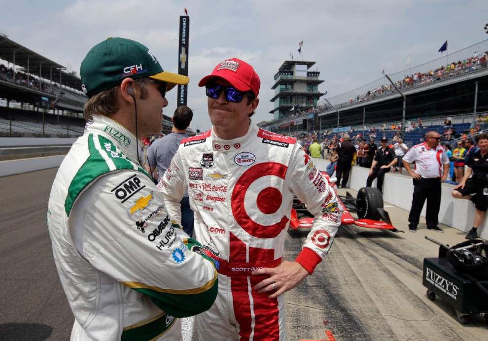 Scott Dixon wins Indy 500 pole _lowres
