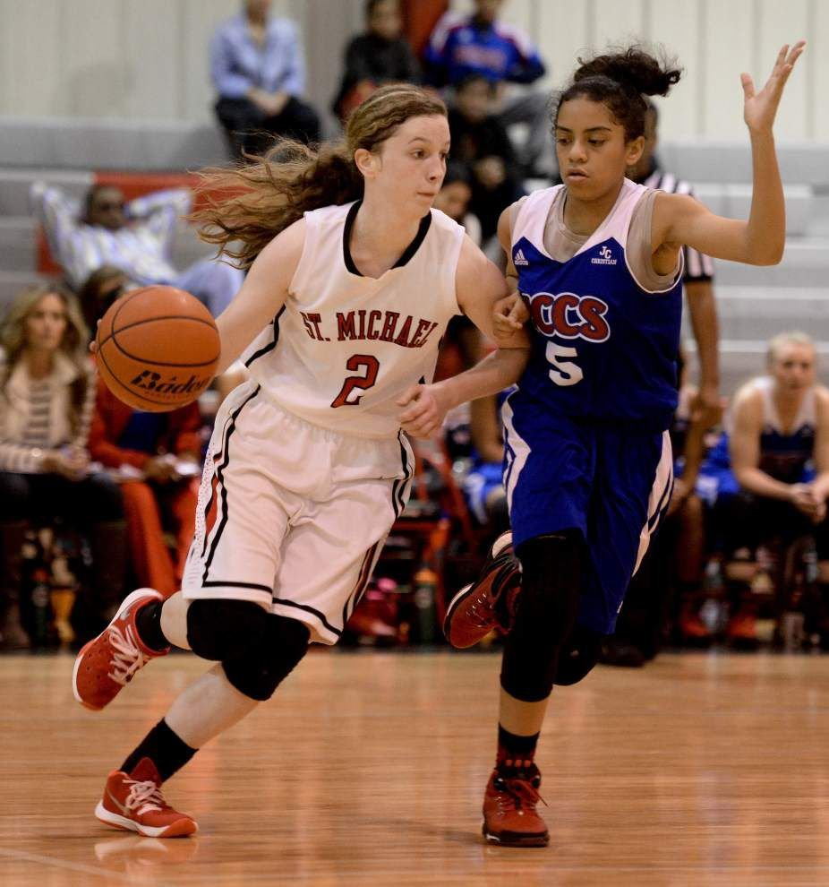 John Curtis girls basketball team downs St. Michael _lowres