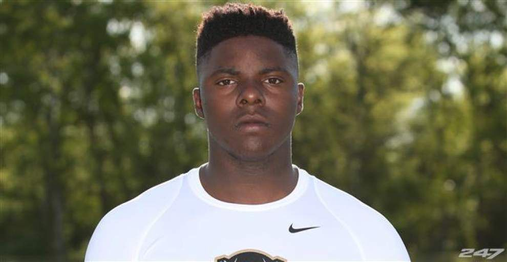Madison Prep defensive end Bryan Jones commits to Ole Miss _lowres