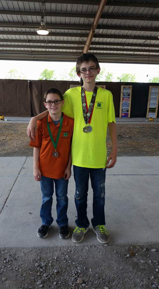 Livingston 4-H shooting members place at state competition _lowres