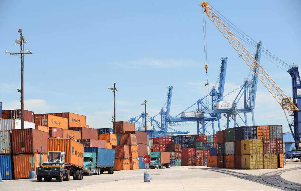 La. exports jump 3.8 percent during first quarter _lowres