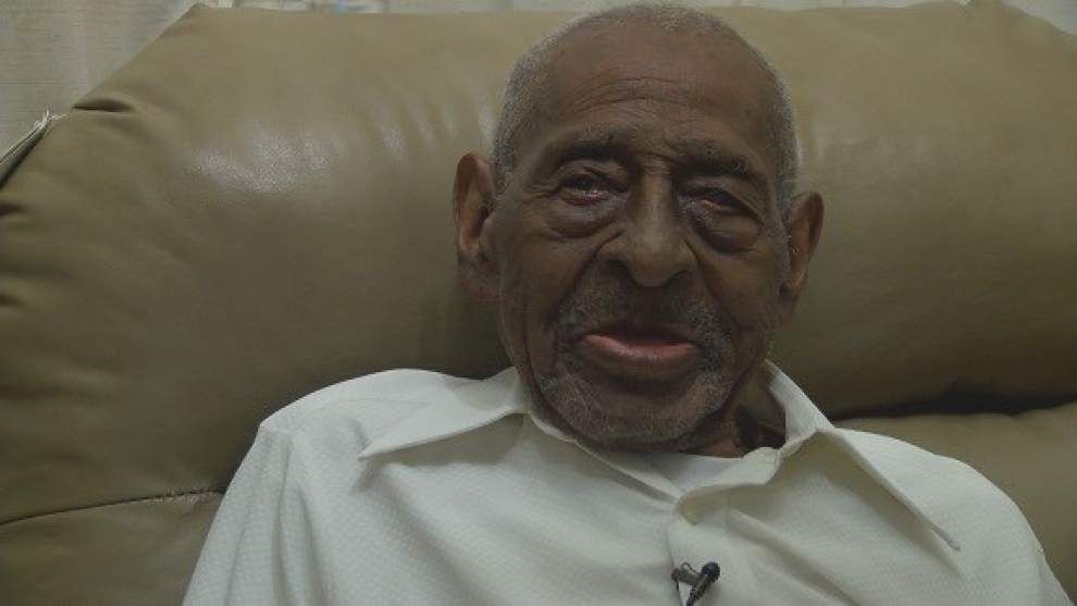 'I'm one of the blessed ones': World War II veteran from Lake Charles turns 110 on Friday _lowres