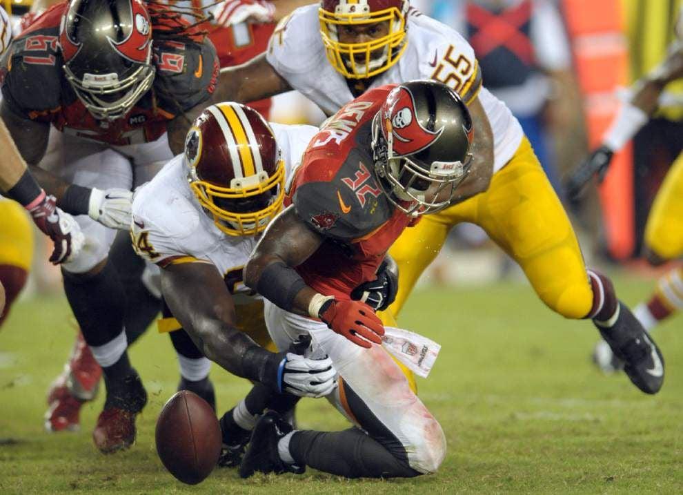 Falcons cut two draft picks; Bucs cut Jeff Demps _lowres