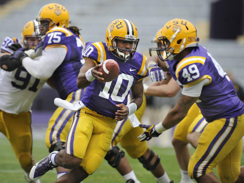 Live updates from the LSU spring football game on Saturday at 1 p.m. _lowres