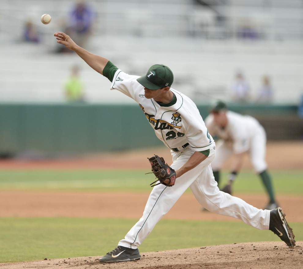 Tulane's season ends with a rain-delayed, 8-2 loss to UNC-Wilmington in the Baton Rouge regional _lowres
