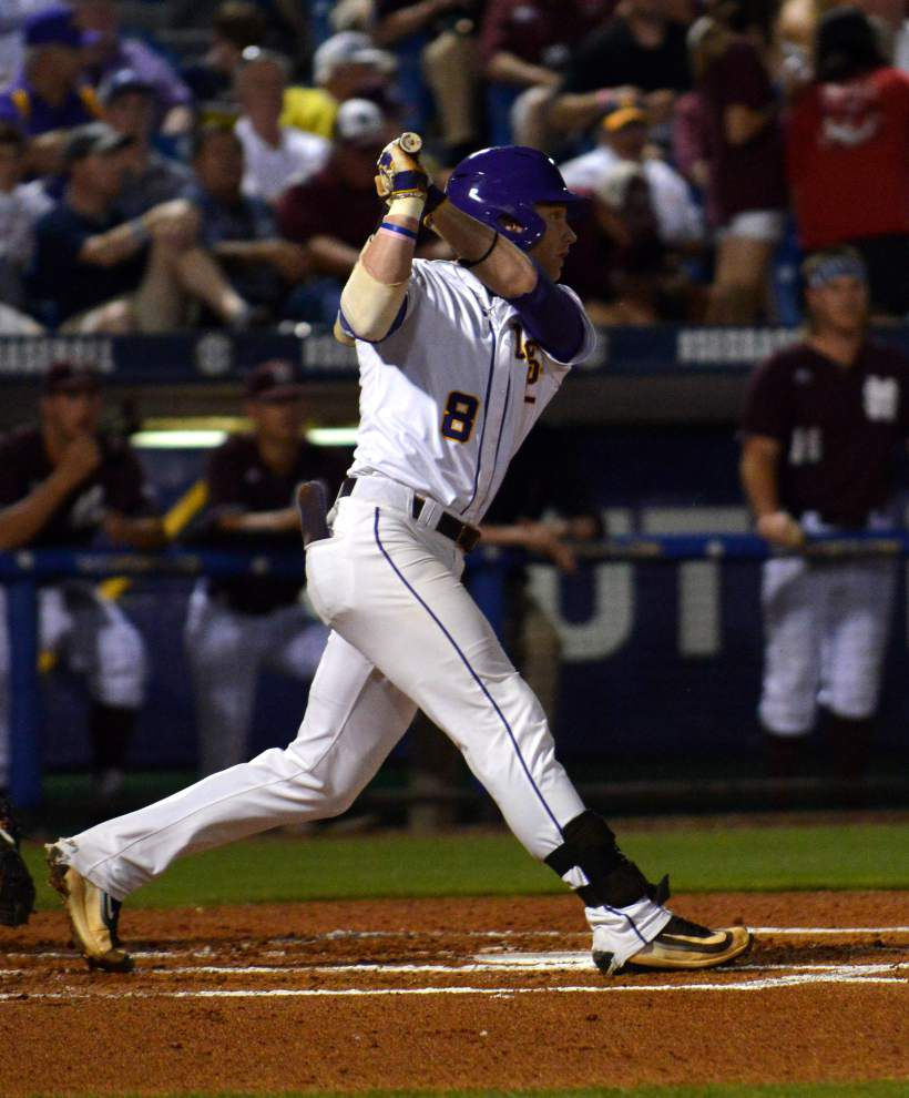 'Probably one of our better games all year': LSU gets past Mississippi State 6-2 in SEC tournament _lowres